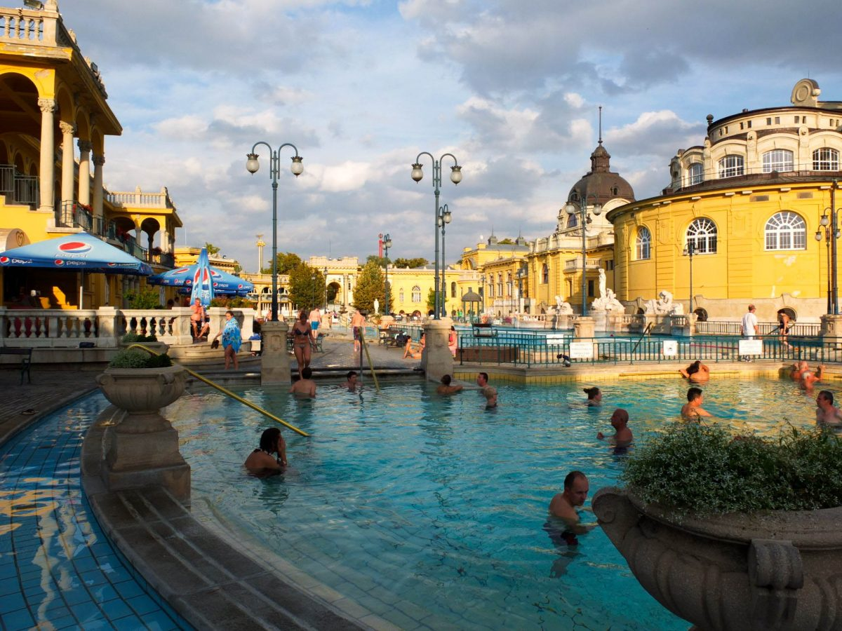 Budapest's hot springs have been known since antiquity