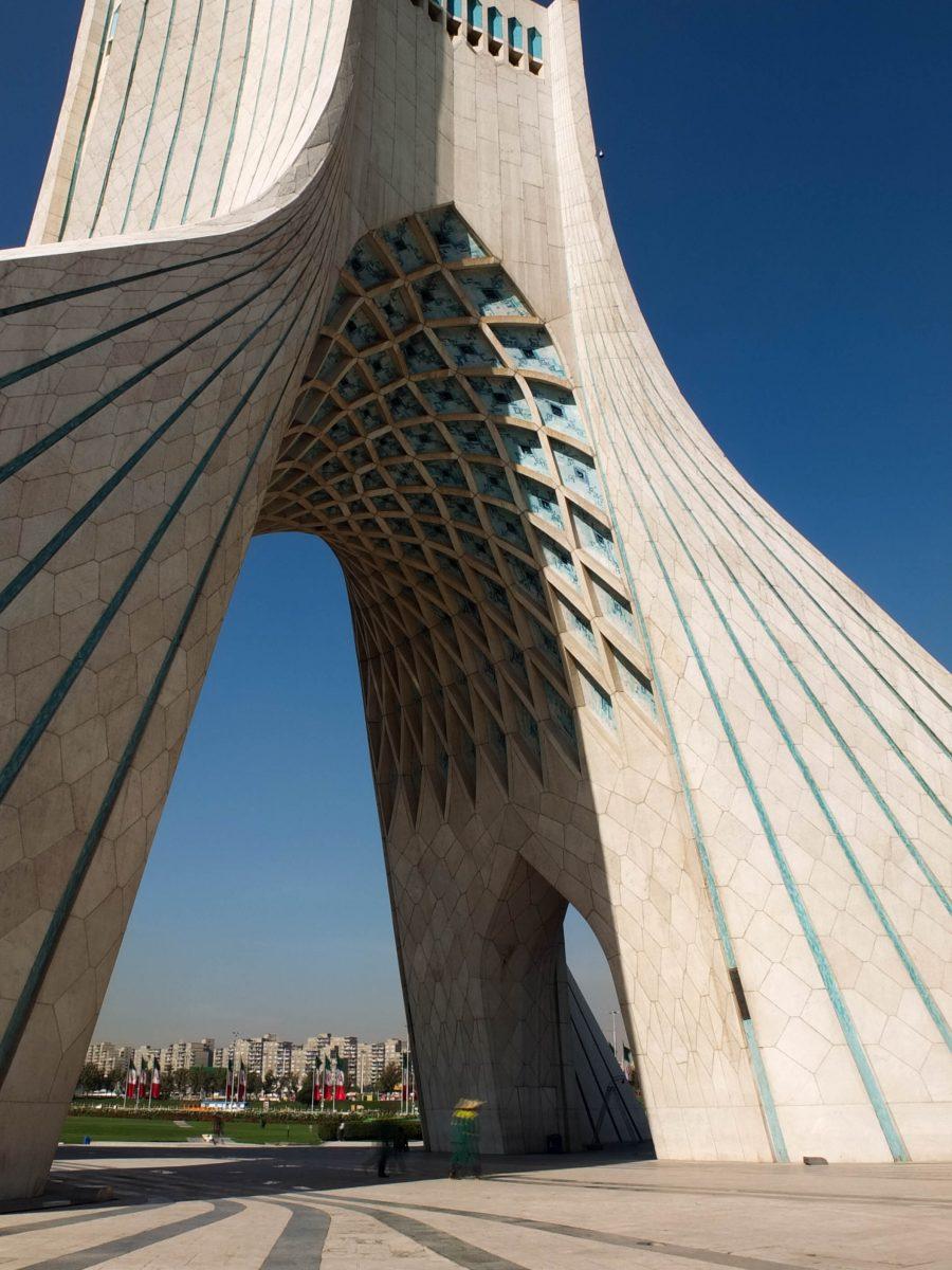Iran's iconic Azadi Tower