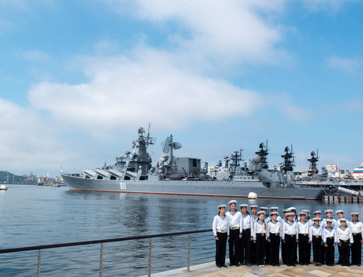 Pacific Fleet for the photo