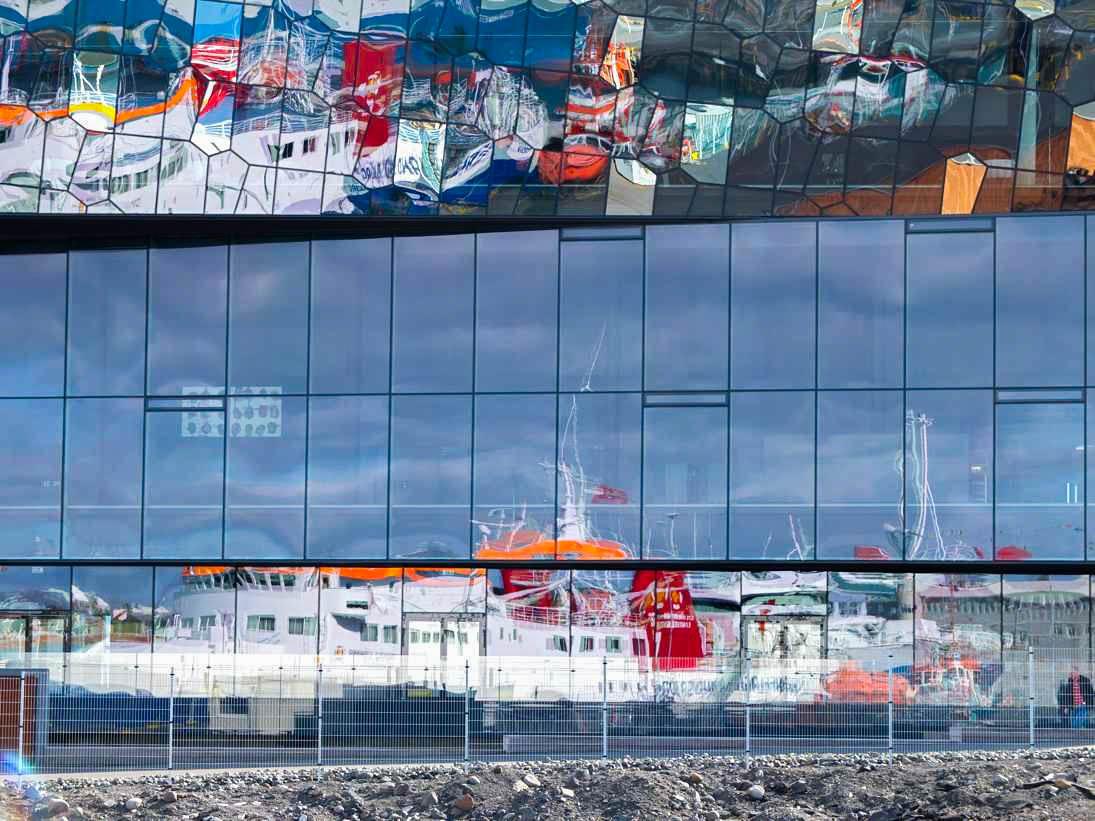 Reykjavik fishing port