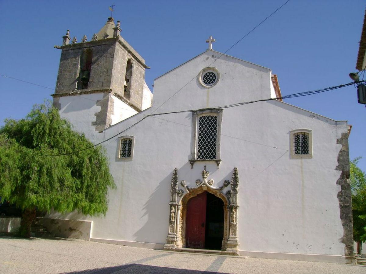 Portal manuelino da igreja matriz