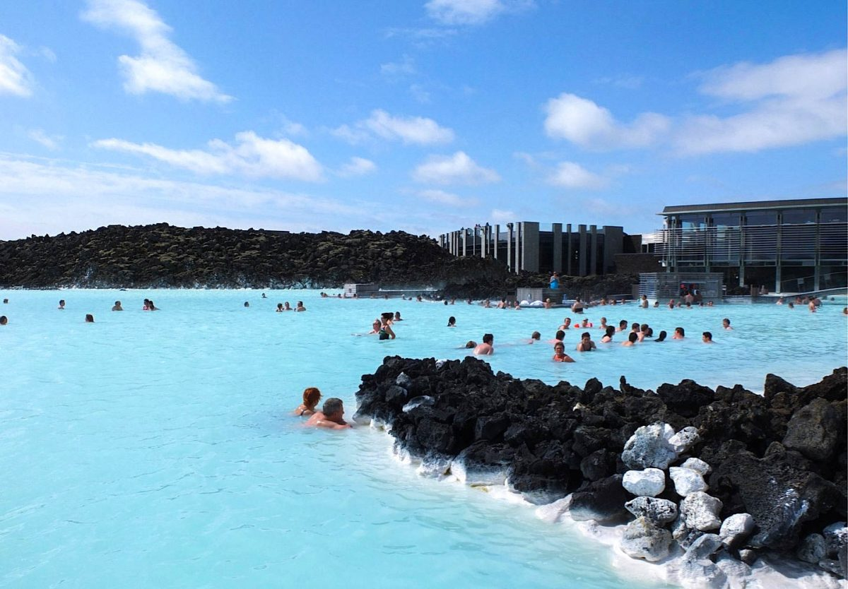 Blue Lagoon is one of the places not to be missed in Iceland
