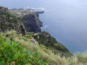 Ilha do Corvo pela objetiva de Domingos Madruda