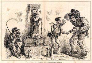 O Zé Povinho aparece pela primeira vez a 12 de junho de 1875, véspera de Santo António