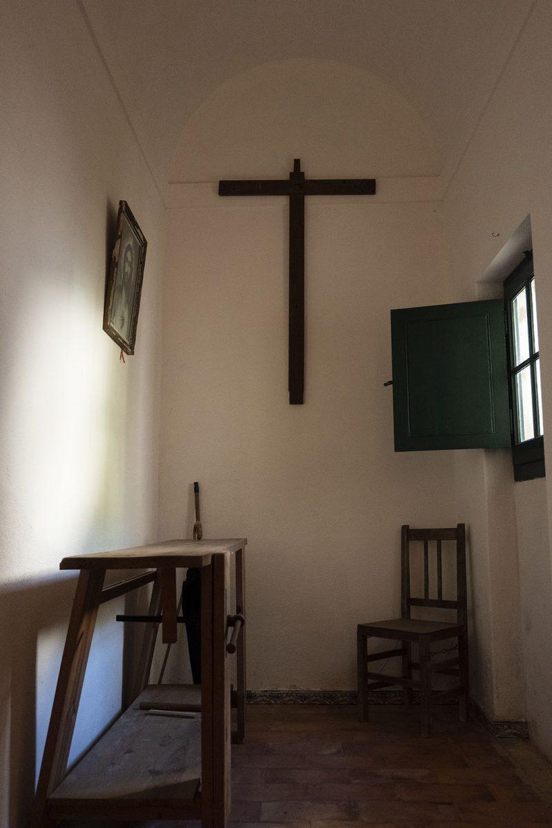No Mosteiro da Cartuxa a vida era passada em silêncio e em oração