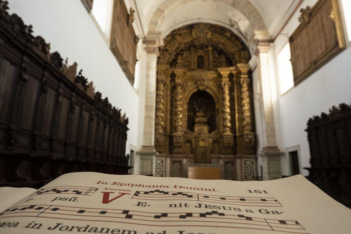 A igreja do Mosteiro da Cartuxa