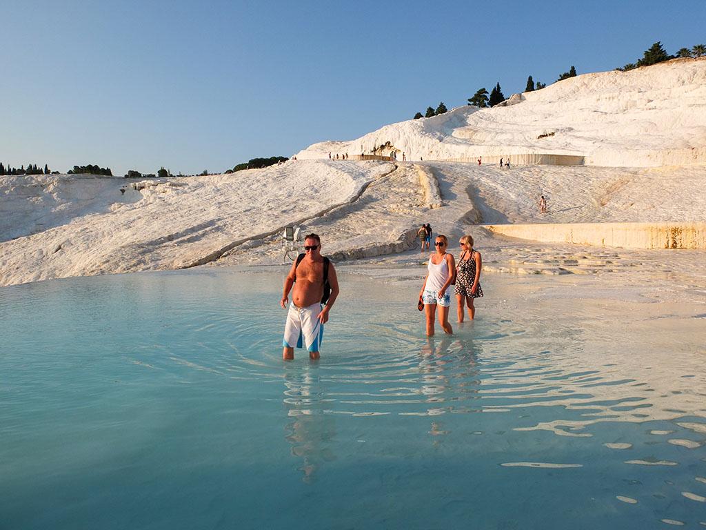 piscinas de Pamukkale