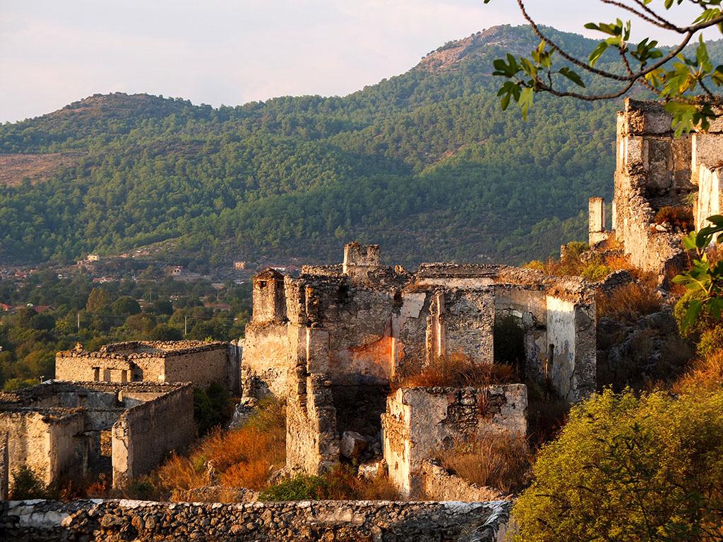 Kayaköy foi uma aldeia vibrante