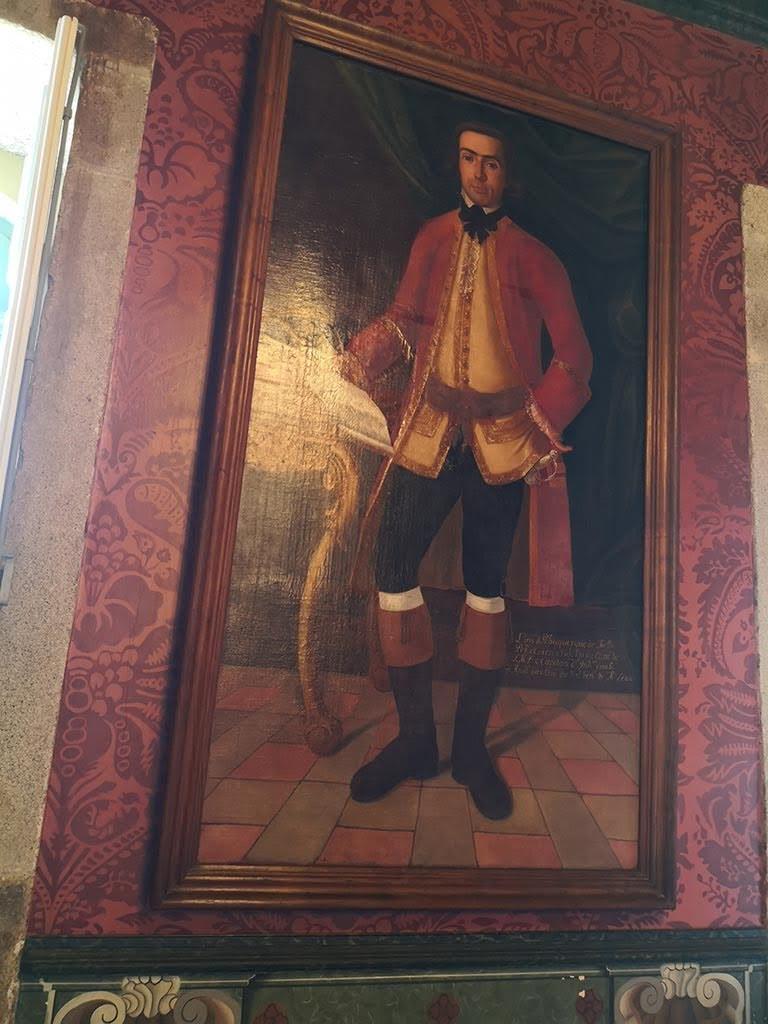 The builder of Casa da Ínsua